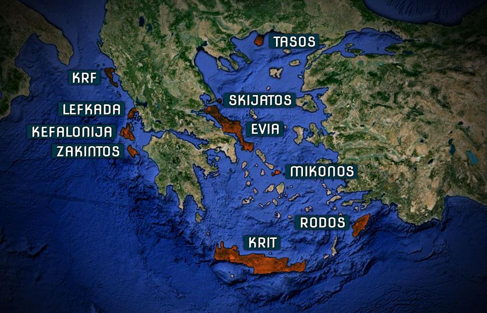 Zanimljivosti o Grčkoj