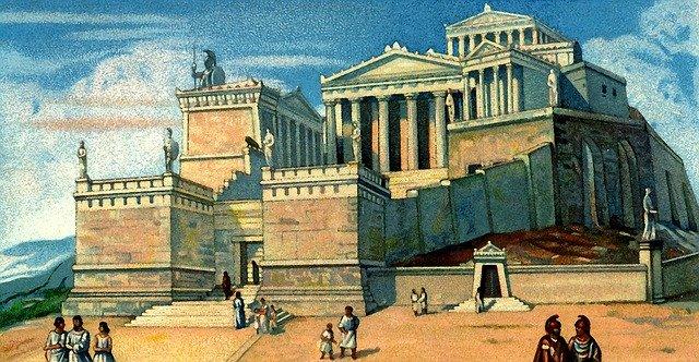atina akropolj stari vek