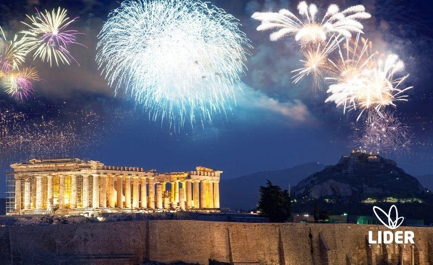 Atina doček Nove godine