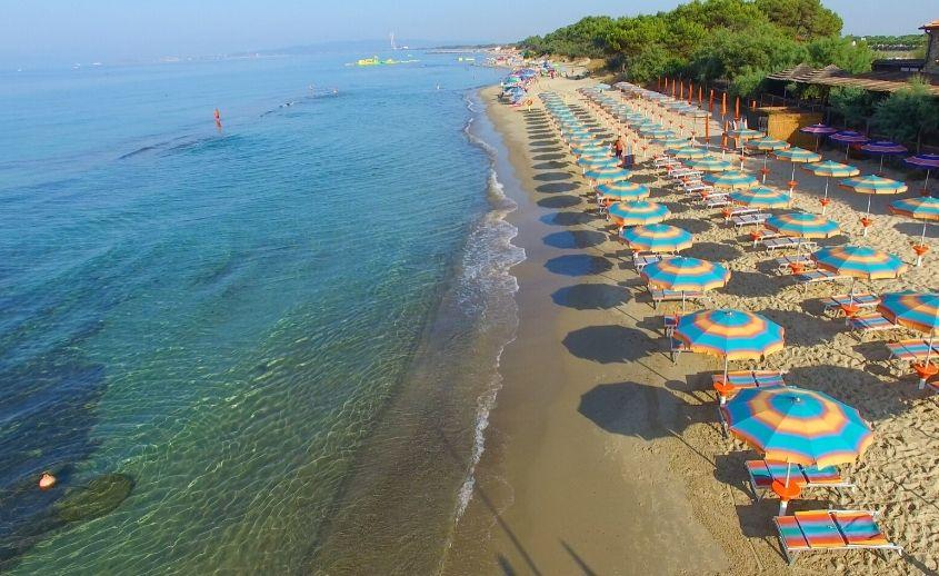 Olympic beach Grčka