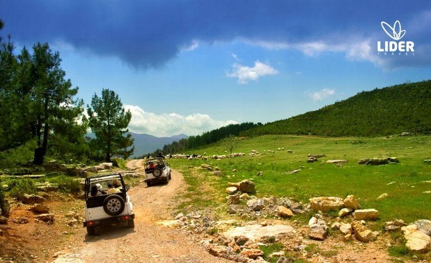 jeep safari np sutjeska
