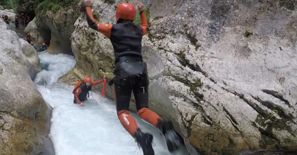 kanjoning nevidio rafting izleti