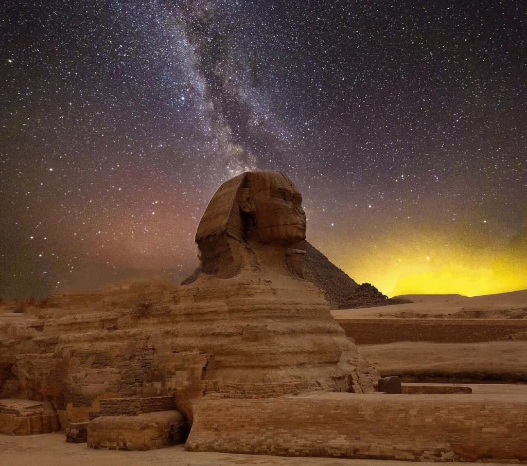 Piramide u Egiptu, Velika Sfinga