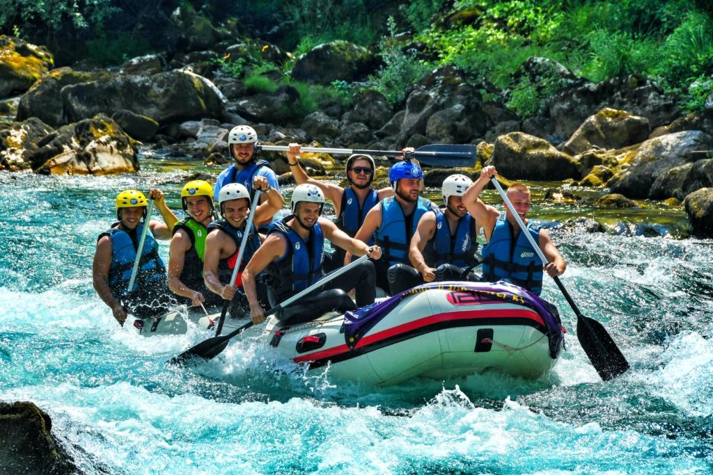 Rafting Tarom u septembru