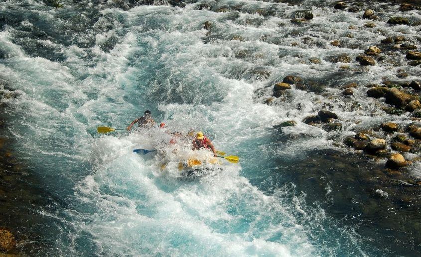 Rafting Tarom u aprilu