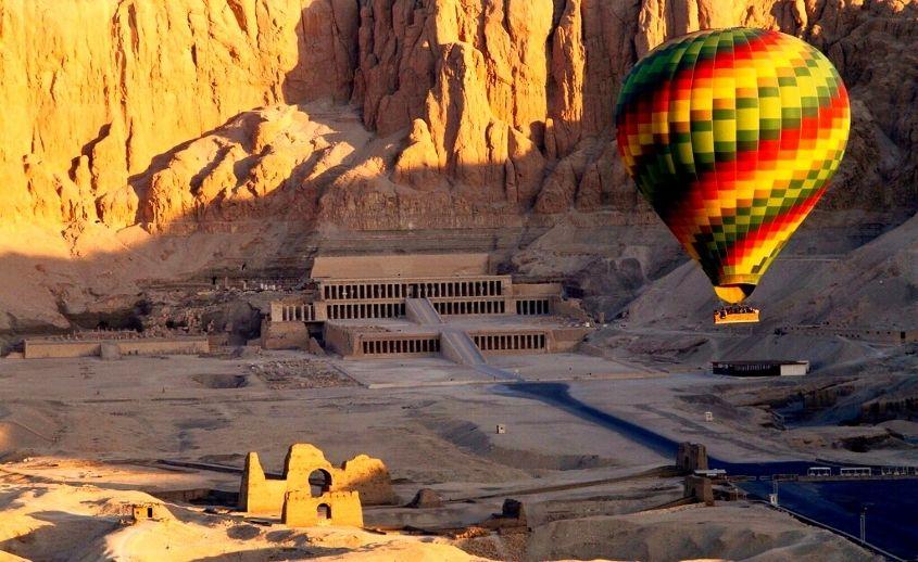 Vožnja balonom Luxor
