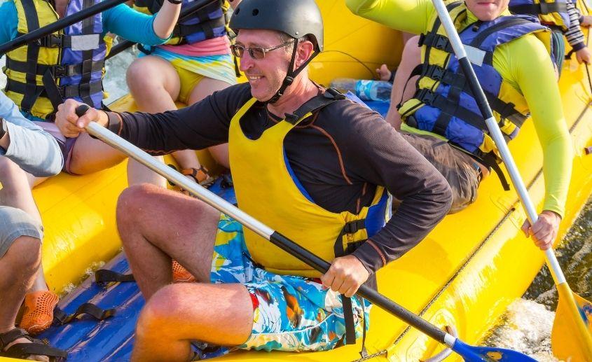 bezbezdnost na raftingu