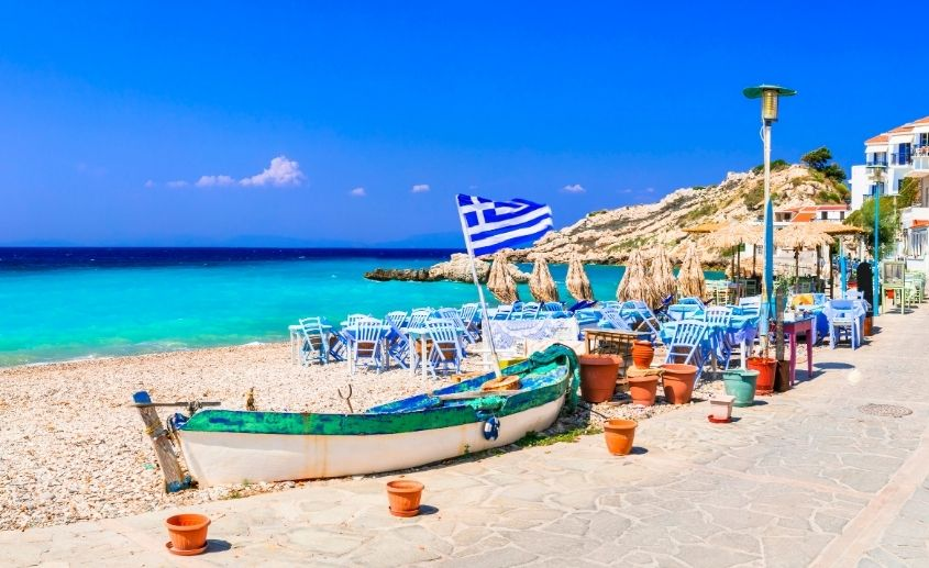 Ostrvo Samos Grčka