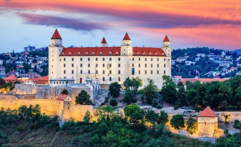 Bratislava Beč docek nove godine